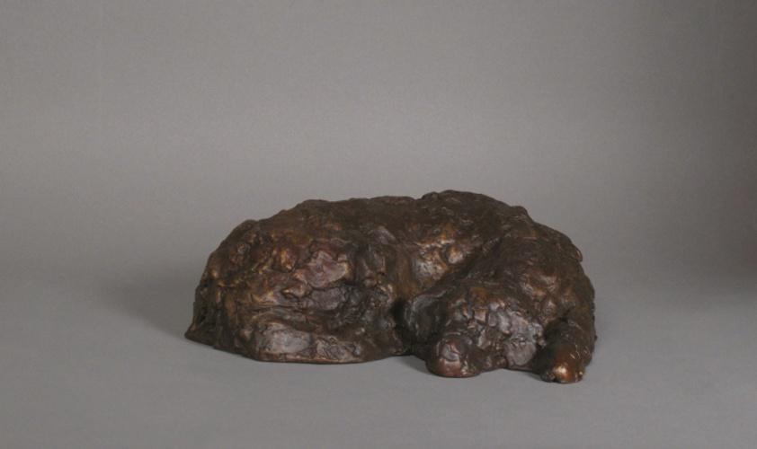 """DOUG, Bronze, 3 x 8 1/2 x 7"""""""