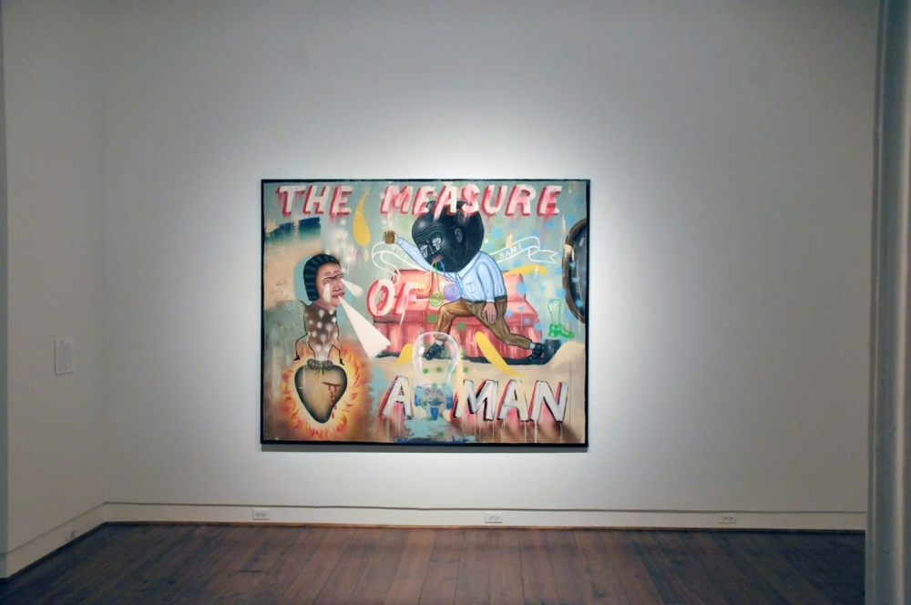 "The ""Measure of a Man"" on exhibit at the Sarah Moody Gallery of Art"