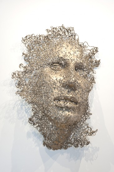 Susan Stamm Evans, THREADS 4, Unique Bronze, 53 x 37 x 13""