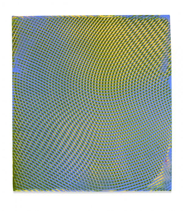 Anoka Faruqee, Acrylic on Linen Panel Painting