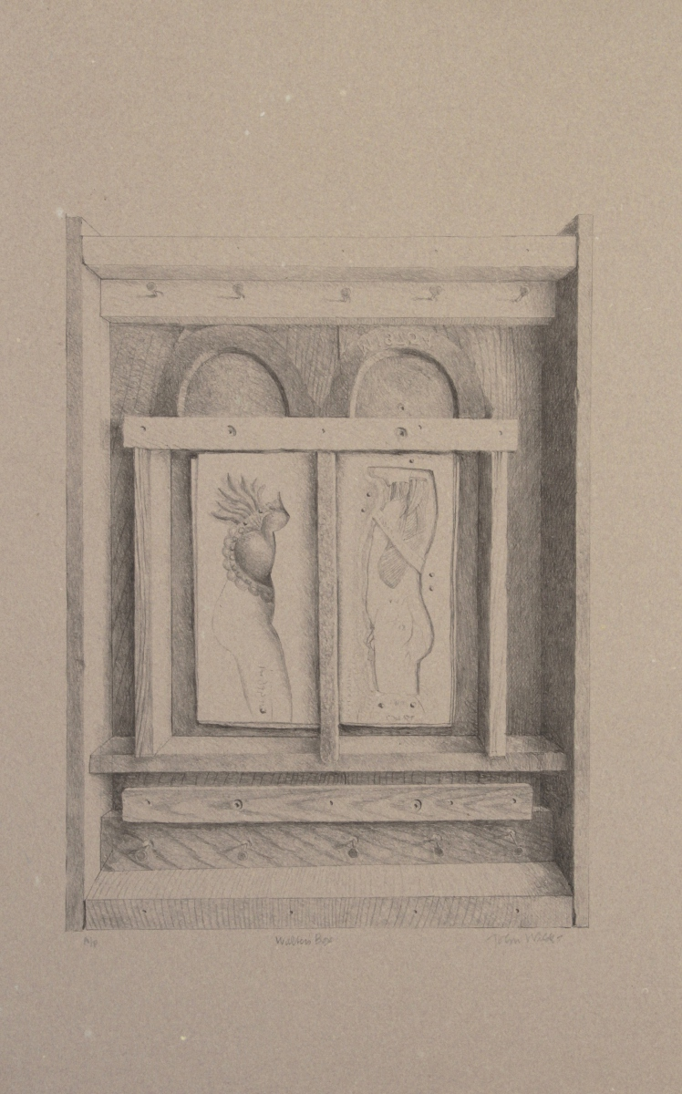 "WALTER'S BOX, Lithograph on Handmade Paper, 24 1/2 x 16 1/2"", AP"