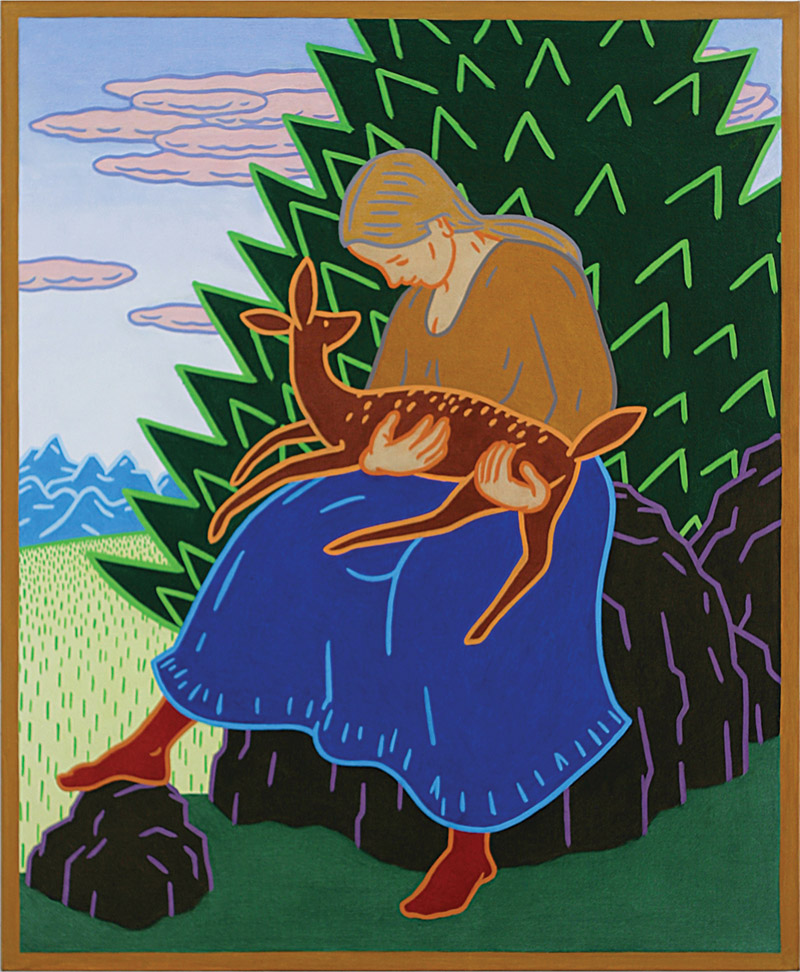 Charles Munch, MOTHER AND FAWN