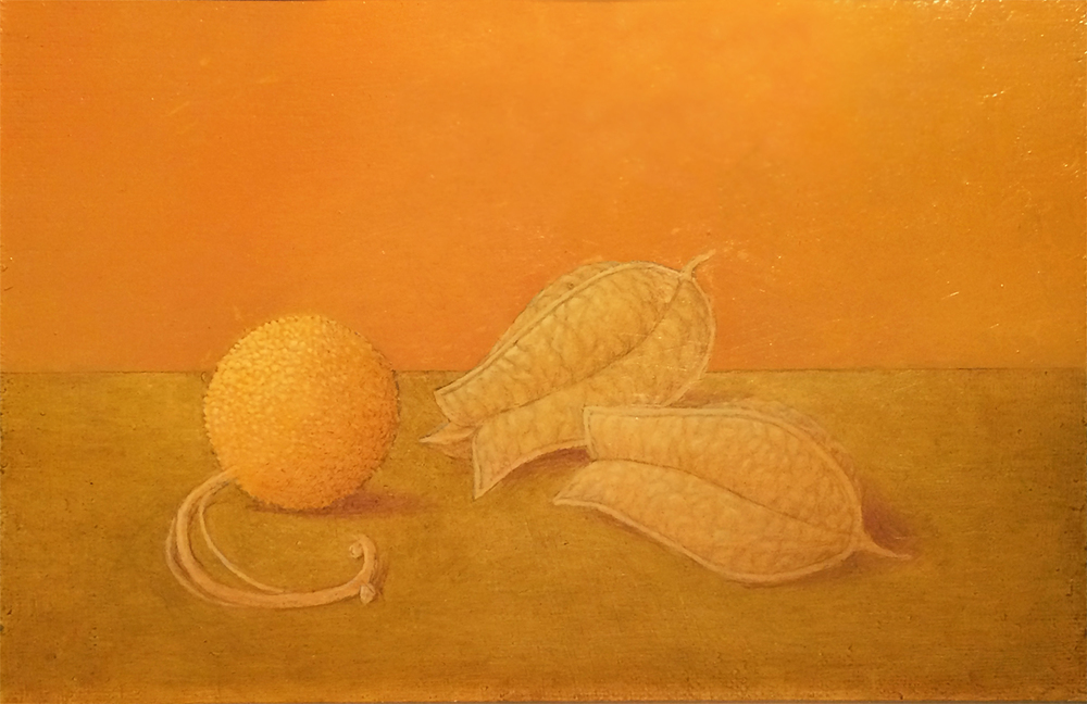 SYCAMORE PLATANUS OCCIDENTALIS, 2003, Oil on Panel, 5 1/4 x 8""