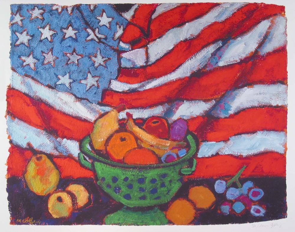"""AMERICAN HOME, Giclee Print, 28 x 34"""""""