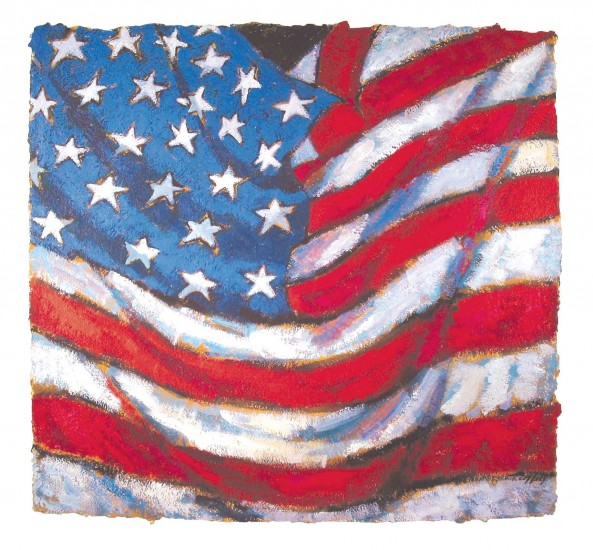 "AMERICAN ORIGINAL 6/50, Giclee Print, 38 x 40"""