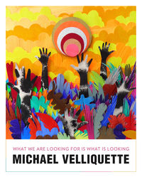 Artist Michael Velliquette's colorful new book documents the past five years of his work.  PHOTO COURTESY OF MICHAEL VELLIQUETTE