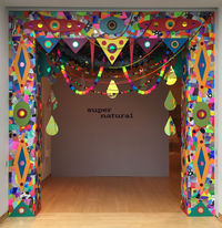 "Michael Velliquette's mixed media installation ""Guided From Within Outwards (Portal 1)"" was on display in 2016 as part of ""Super Natural"" at the John Michael Kohler Art Center in Sheboygan. It is documented in his new art book. PHOTO COURTESY OF MICHAEL VELLIQUETTE"
