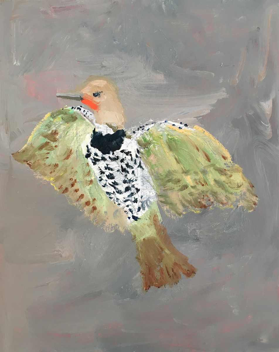 "FLICKER, Oil on Canvas, 20 x 16"" - $2,700"