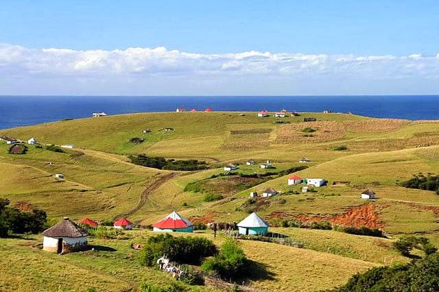 Dorpie in die Transkei. Foto via BBQBoy.