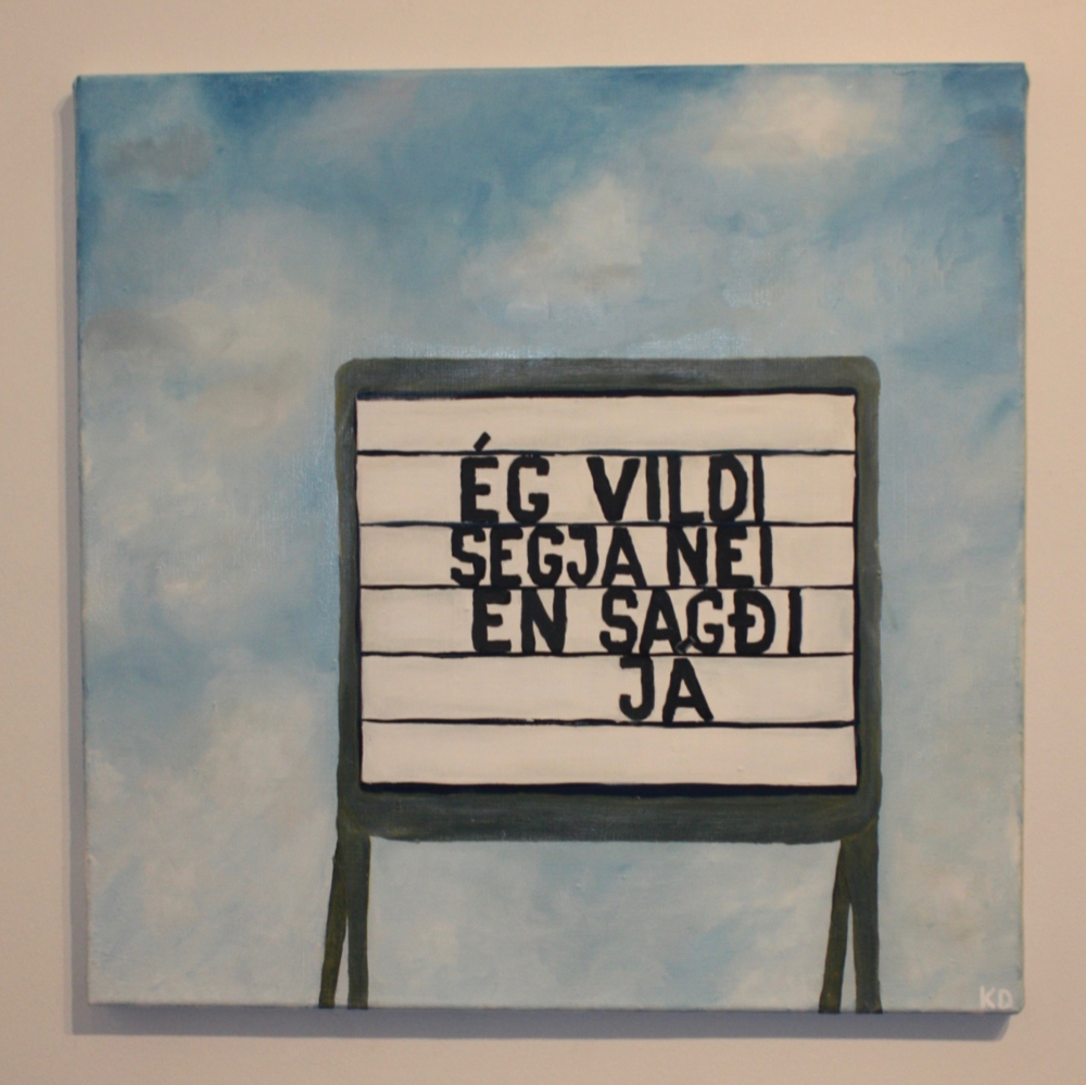I wanted to say no but said yes   60x60  2015