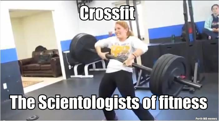 How people outside of Crossfit see it.