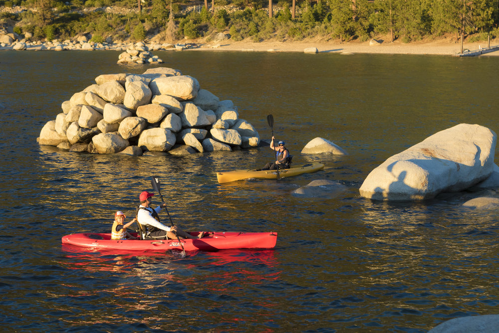 Paddle Kayaks -