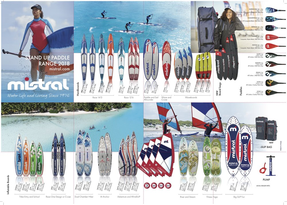 Mistral SUP Boards & Sails -