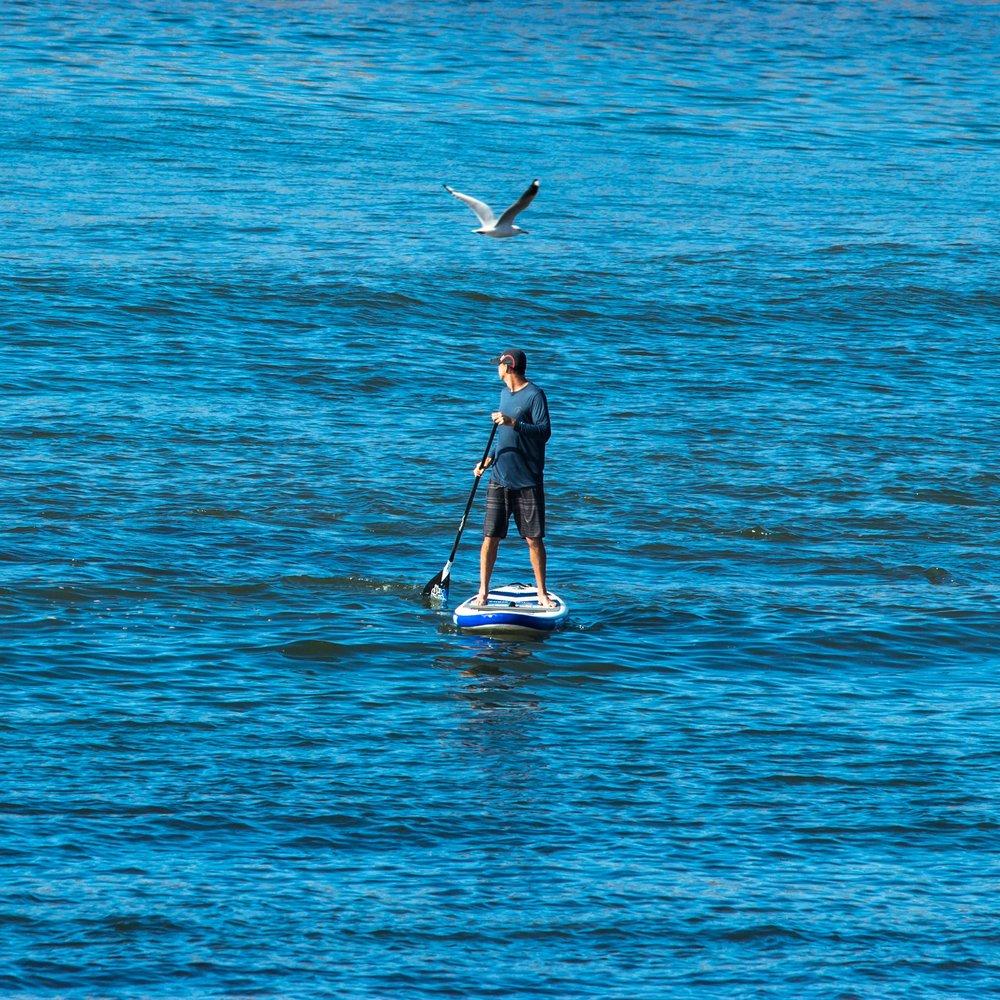 Paddleboarding -