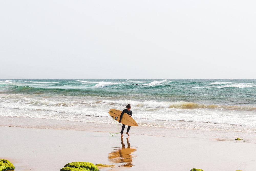 Wave Surfing -
