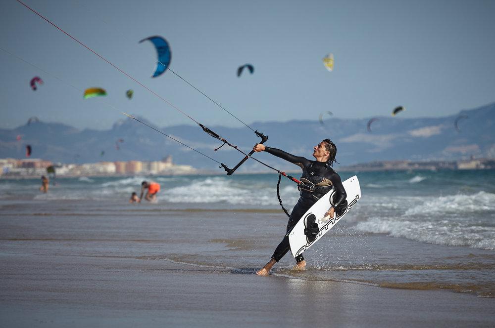 Kiteboarding -