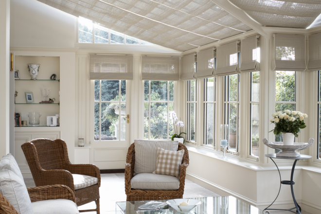 Conservatory Blinds & Garden Rooms -