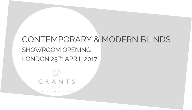 CONTEMPORARY & MODERN BLINDS - SHOWROOM OPENING