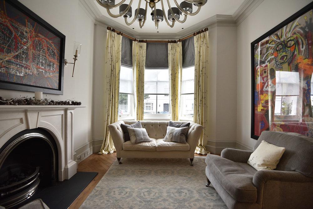 Custom Curtains -