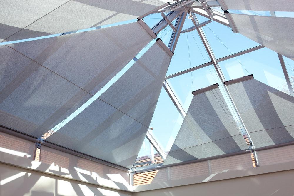 Roof Roller Blinds -
