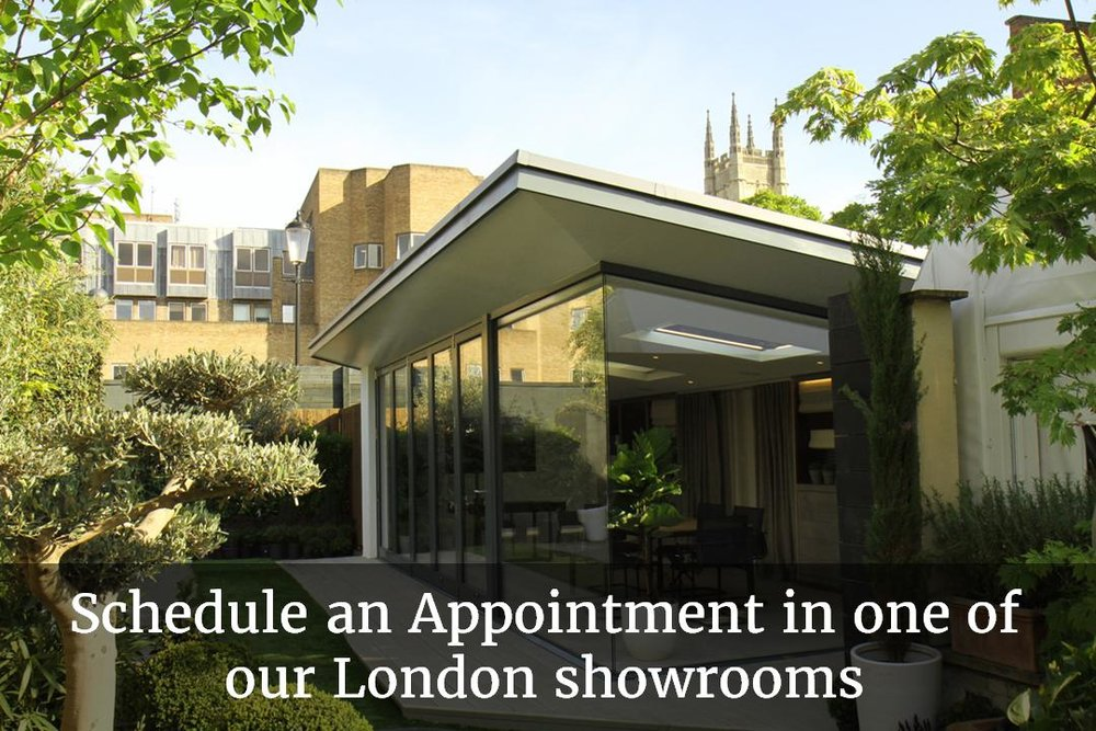 Schedule an appointment in one of our London showrooms