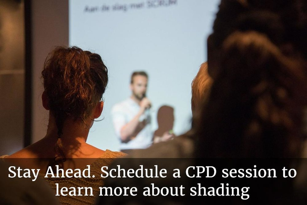 Stay ahead. Schedule a CDP session to learn more about shading