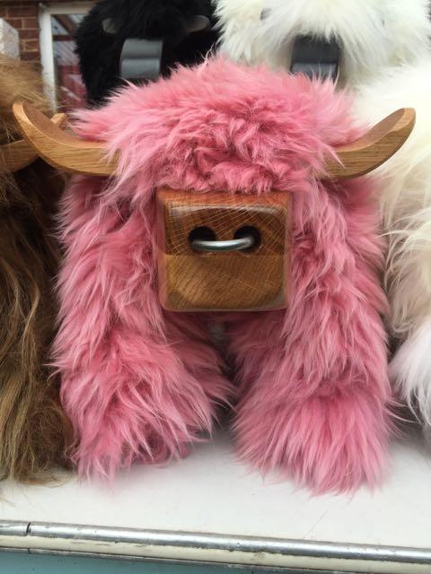 Dusty Pink Bull