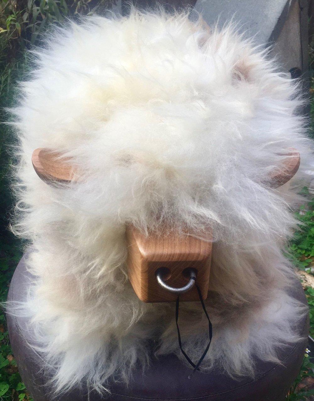 Organically tanned British sheepskin by Nicky Prt.