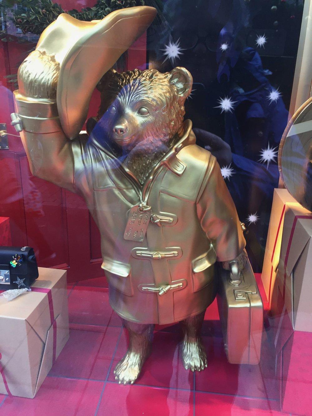 Paddington in Gold !