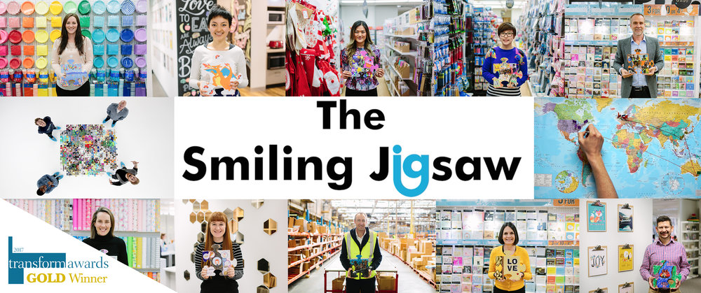 THE SMILING JIGSAW - A GLOBAL STAFF ENGAGEMENT PROJECT
