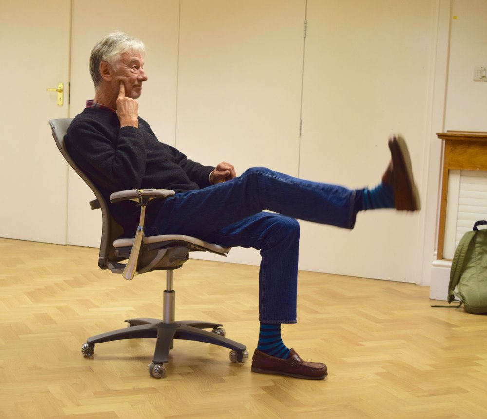 Peter and foot! rehearsal photo.jpg