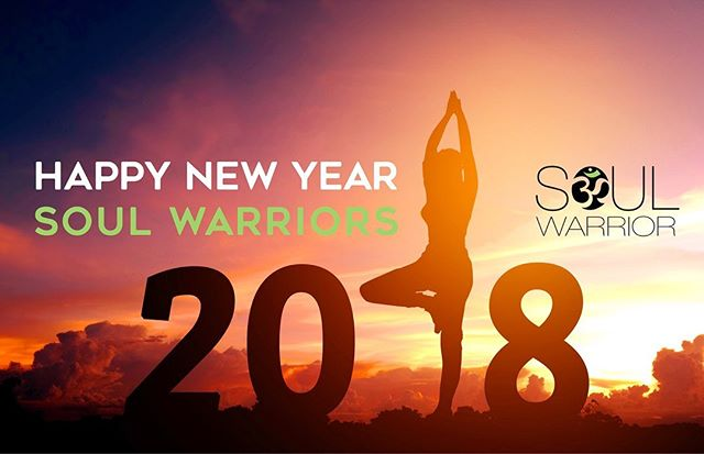 Dear Soul Warriors, May 2018 be filled with love, happiness, and prosperity in anything you set your mind to. With a few more hours left in 2017, set your intentions in order to manifest all you want in 2018. Connect to your deepest desires and make plans for what you want to do in order to live your fullest life. Be sure to be grateful for all that has happened so far, the good and the bad, is all there to challenge you to be the best you can be. Stay humble and continue your endeavors towards happiness. We hope to see you in 2018🙏🏼#soulwarriorstudio#riyadh #newyears#2018#2018goals#yoga#pilates#muaythai#balance#strength#barre#livelovelife