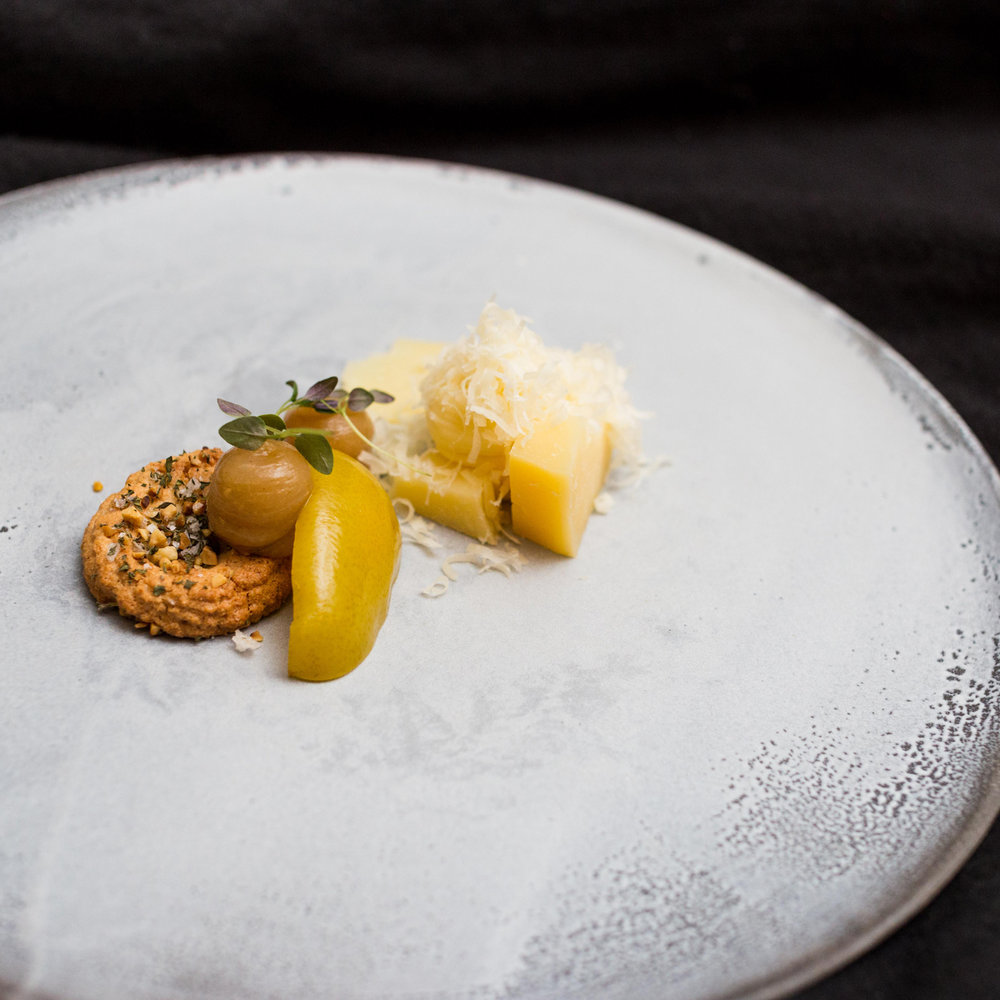 Plates for Restaurant Juuri, Helsinki. Photo by Pekka Kastari.