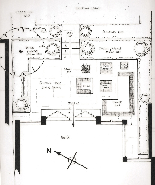 Gardens lisa cox garden designs for Cox plans