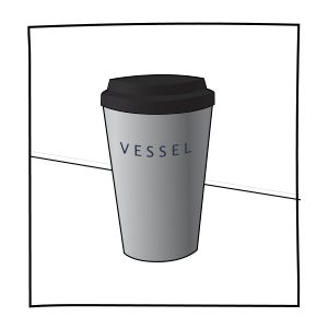 4. Receive your drink in a Vessel