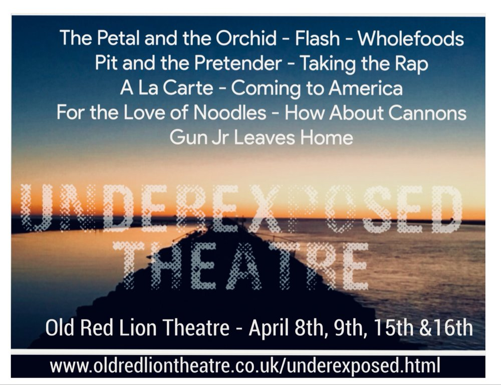 With ever-more overlooked stereotypes to explore, Underexposed Theatre returns to the Old Red Lion for their second outing.        April 8th-9th and 15th-16th at the Old Red Lion Theatre.
