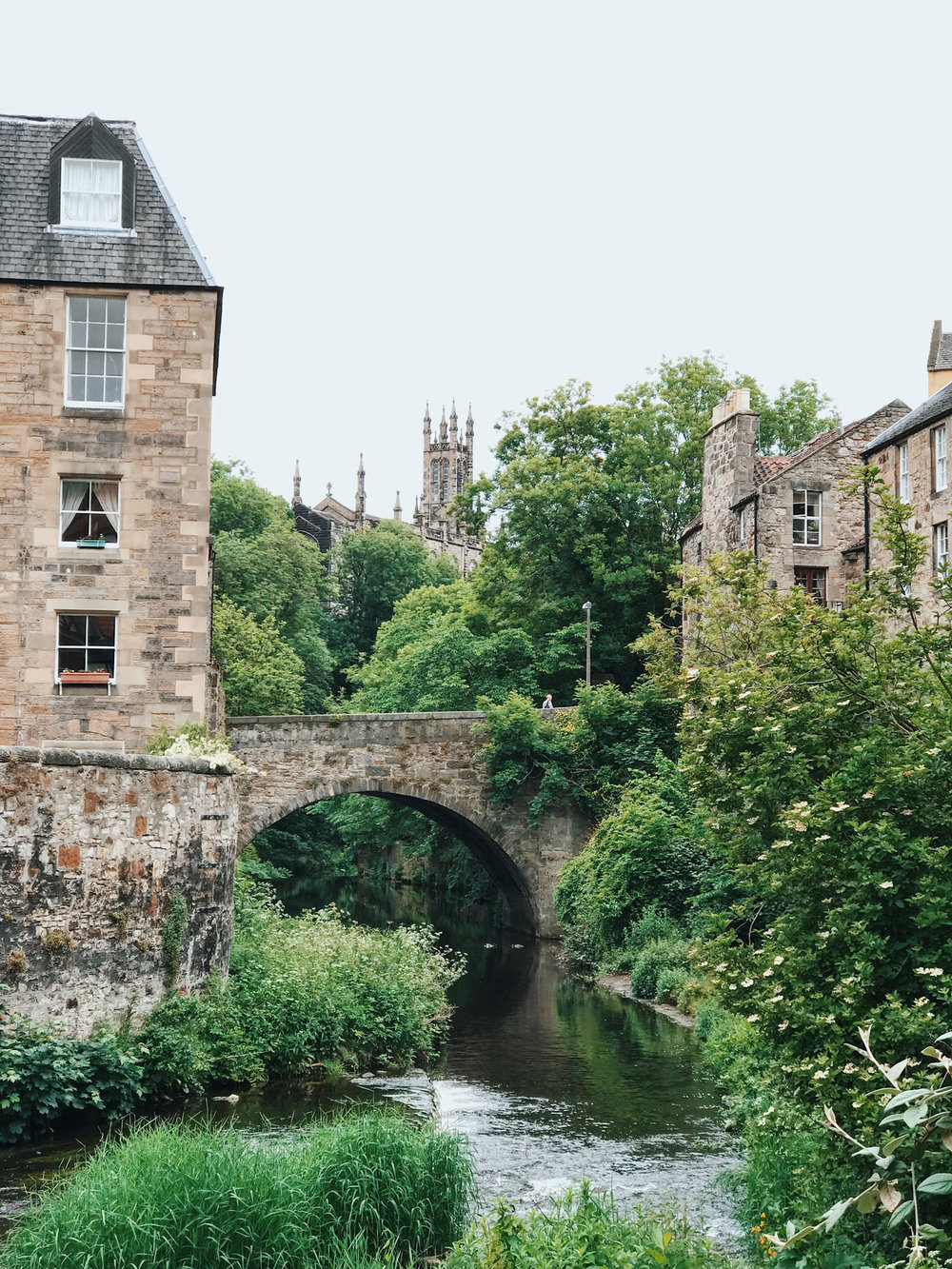 The picturesque Water of Leith