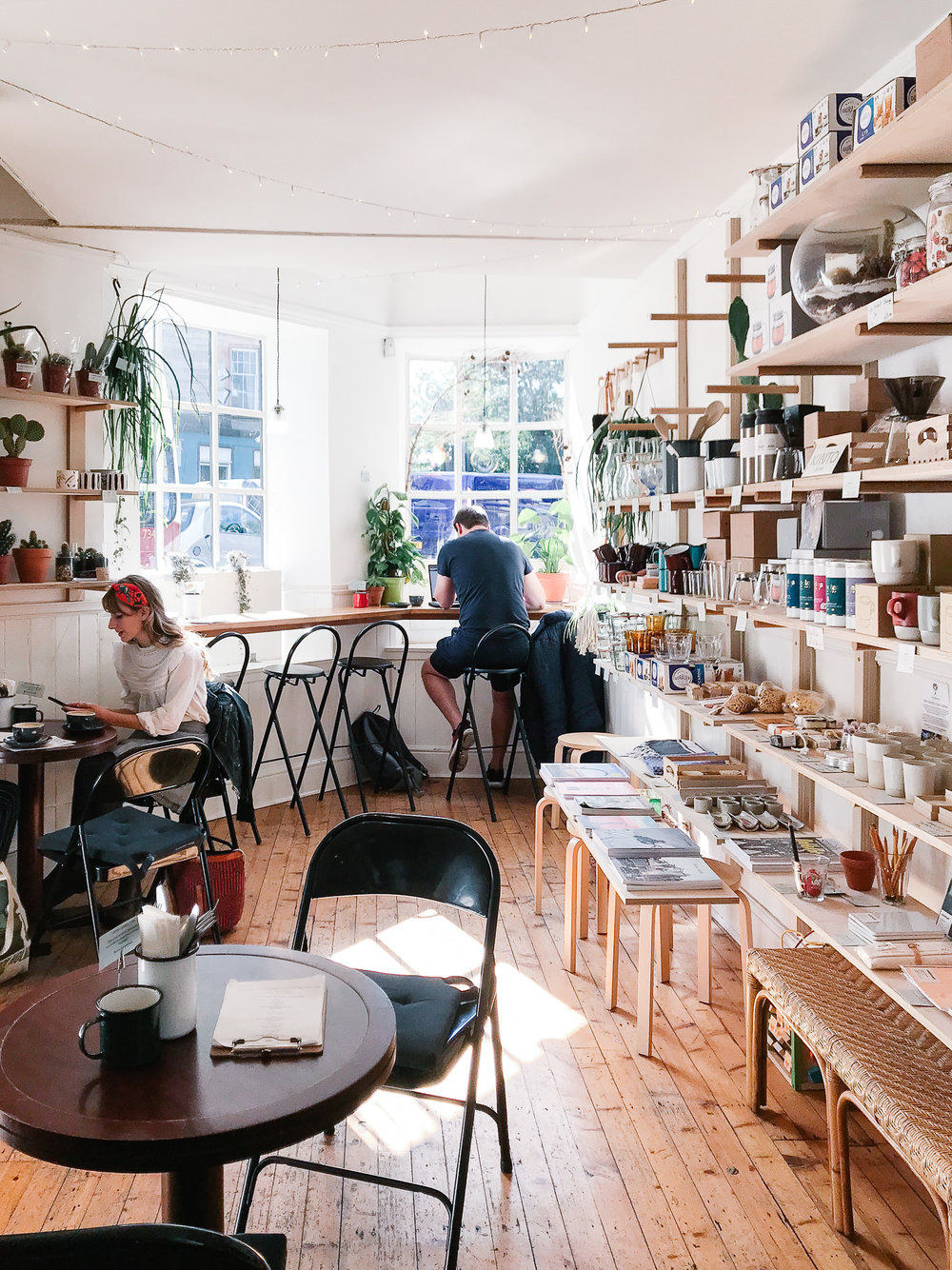 Century General Store cafe interior