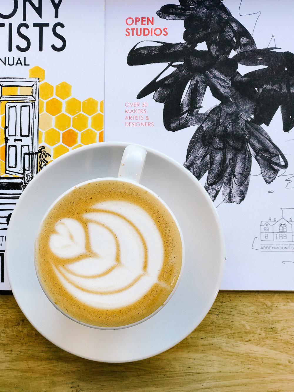 Little Fitzroy coffee shop Edinburgh (Oatly flat white kinda day)