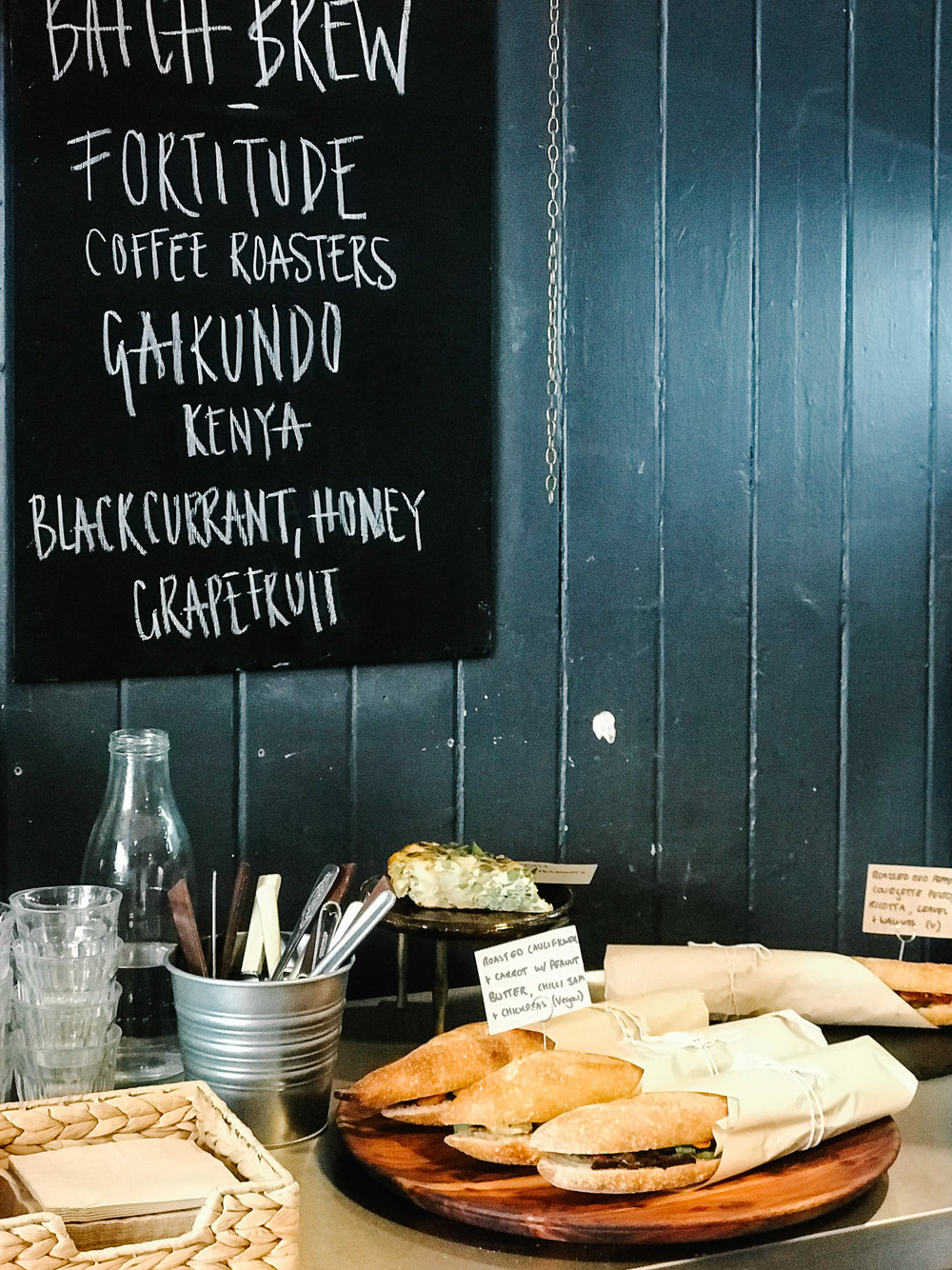Twelve Triangles bakery cafe Edinburgh