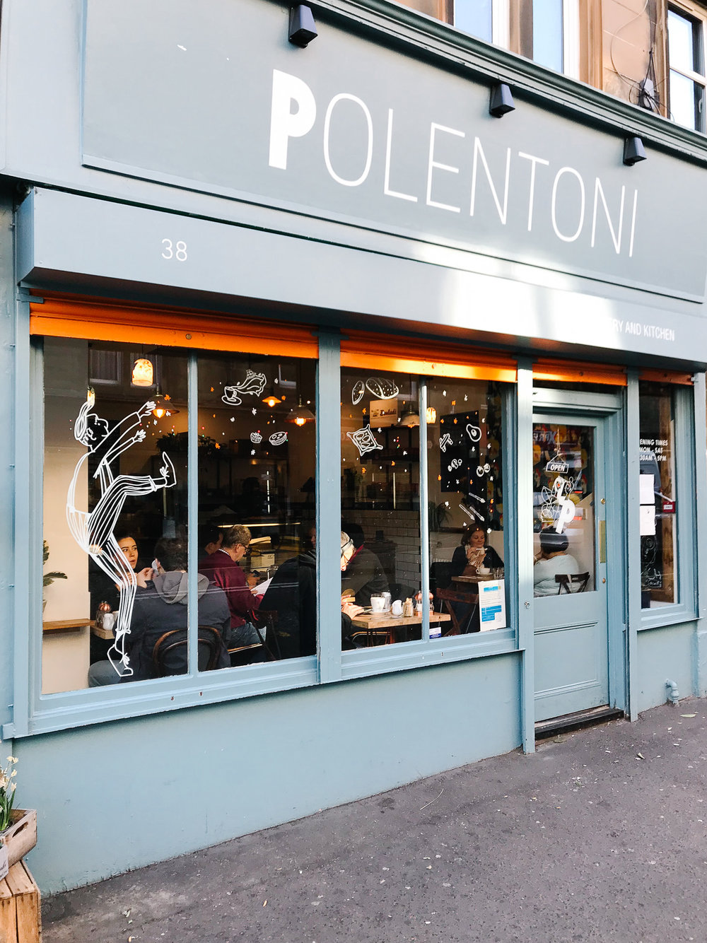 Polentoni, Italian Bakery and Kitchen Edinburgh, Exterior