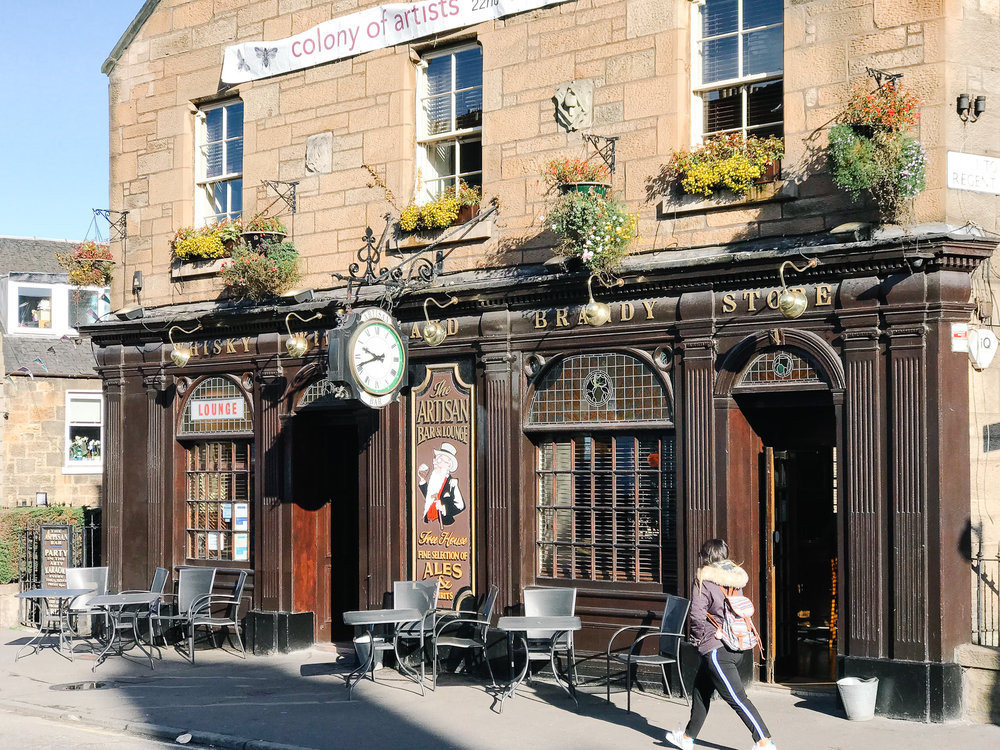 The Artisan Bar, Abbeyhill, Edinburgh
