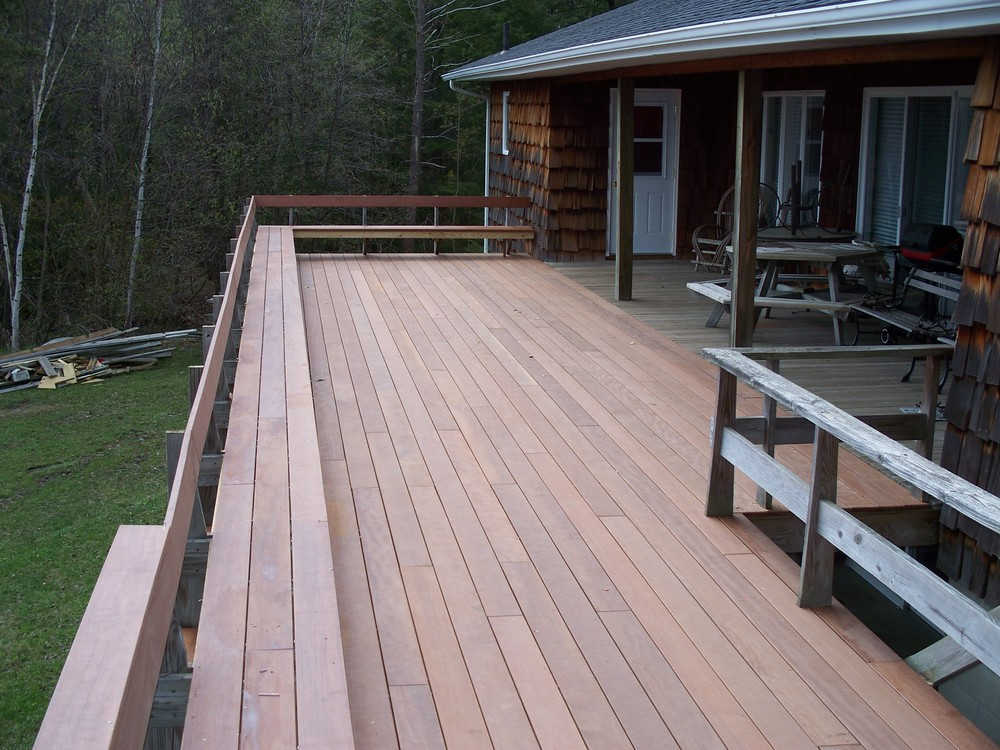 Plamondon Deck   /  Addition / Design