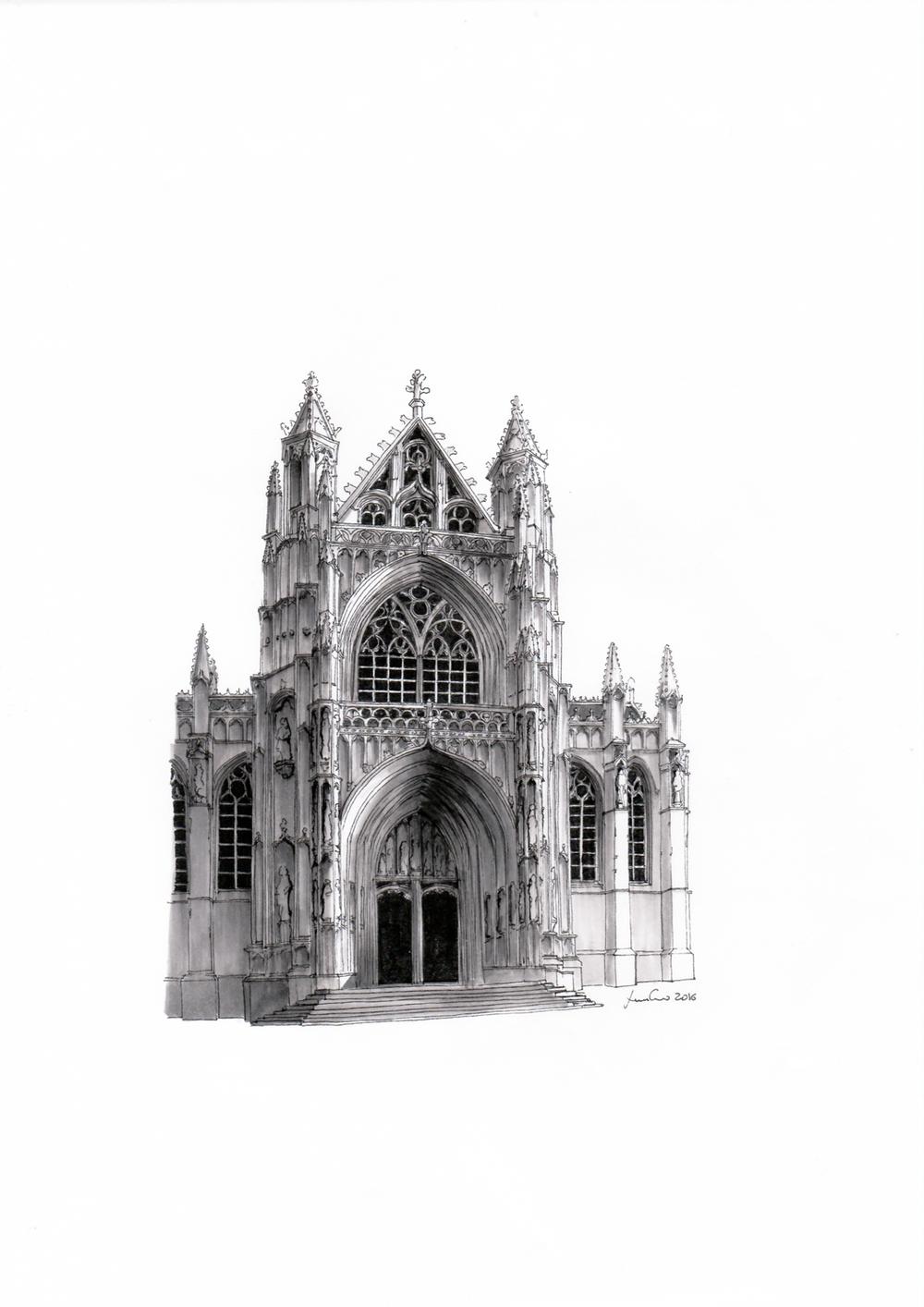 Chiesa di Notre-Dame du Sablon - Bruxelles