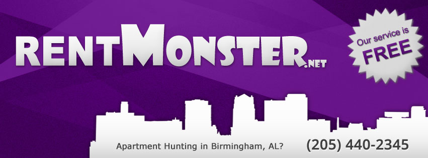 RentMonster  Brian Tunnell  4112 4th Avenue South Birmingham, AL 35222    205.440.2345      info@rentmonster.net      www.rentmonster.net