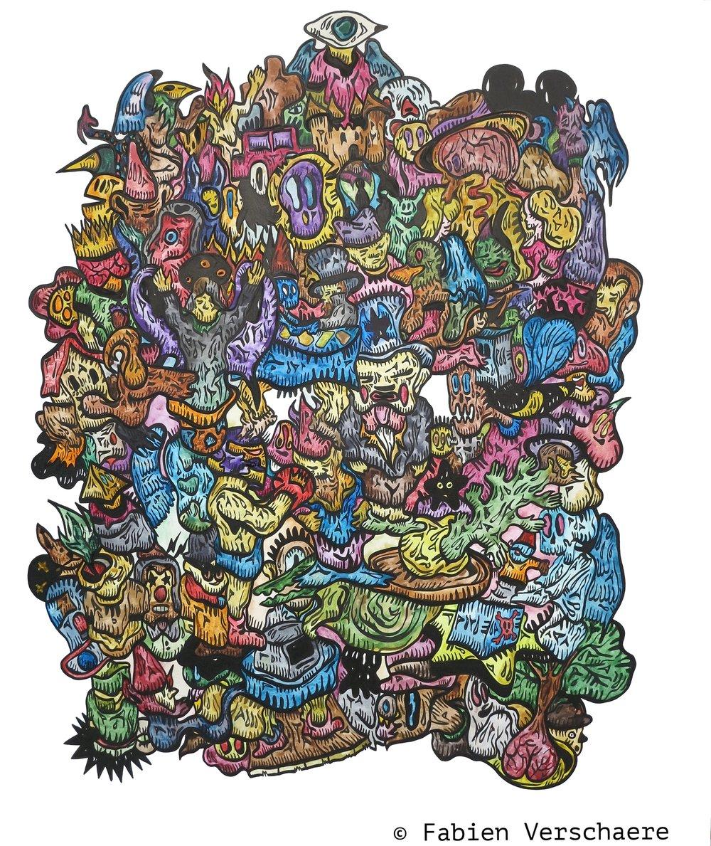 2916 - Alice Brain - 162 x 130 cm - Fabien Verschaere.jpg