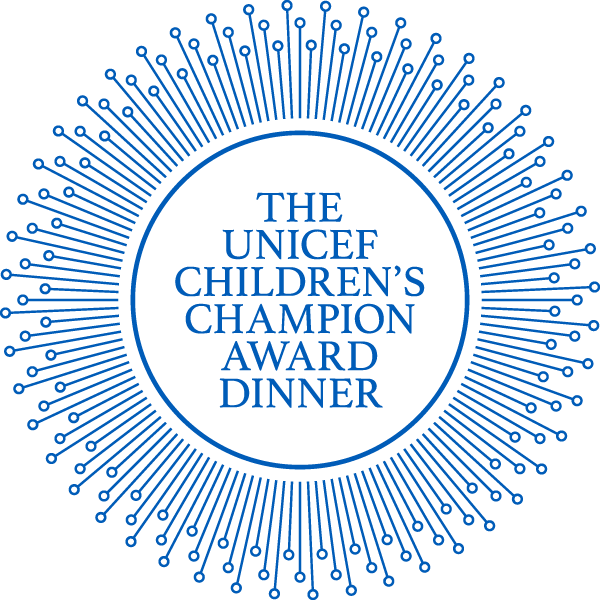 The UNICEF Children's Champion Award Dinner