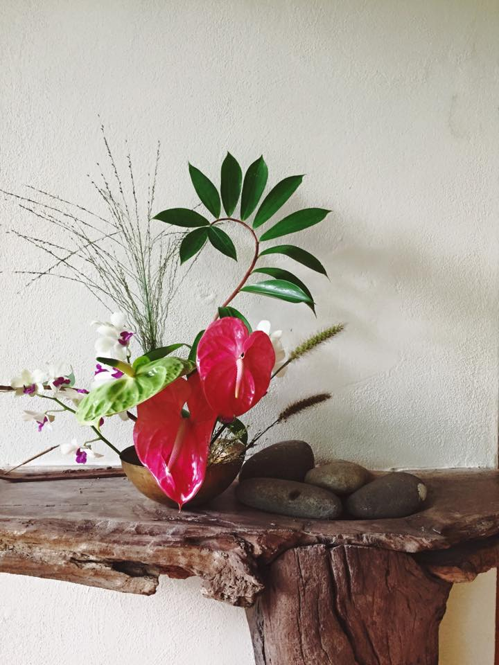 Photo by Liza Lubell | Ikebana inspired class led by Taylor Patterson + Liza Lubell