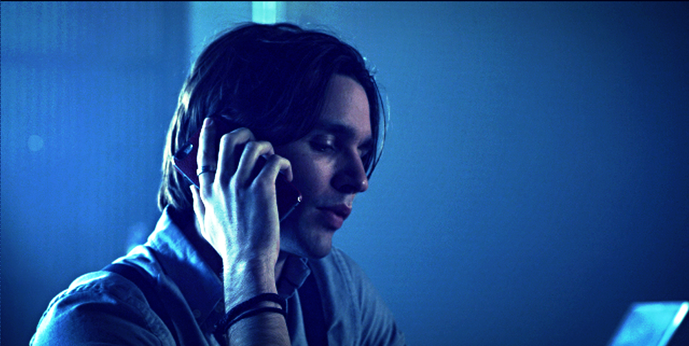Vincent Cyr as Jared Cross planning revenge against Derek Winter.