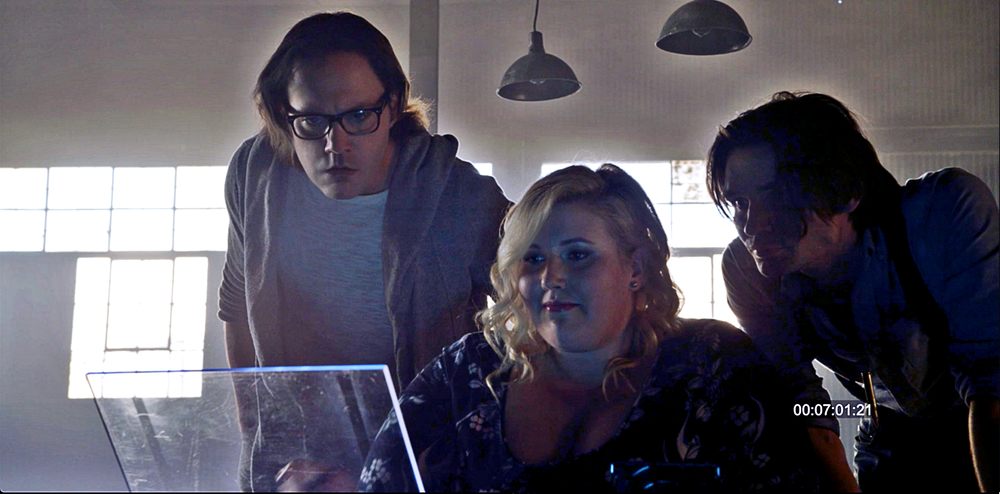 Dashiell, Willa and Jared search for information
